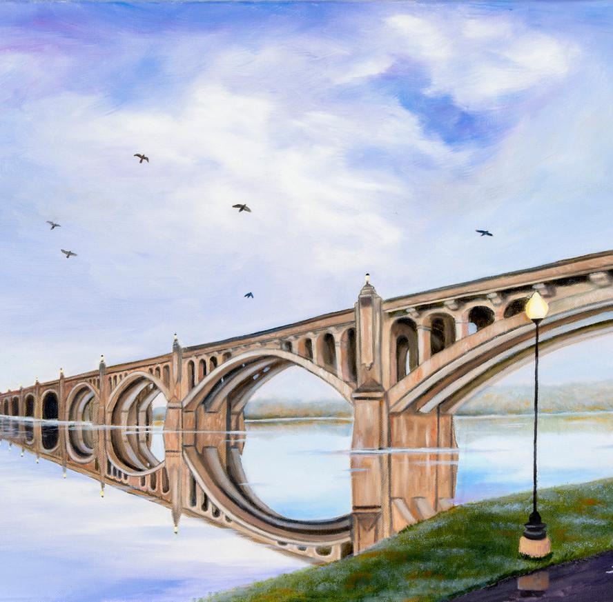 Mile Long Bridge Over the Susquehanna Va