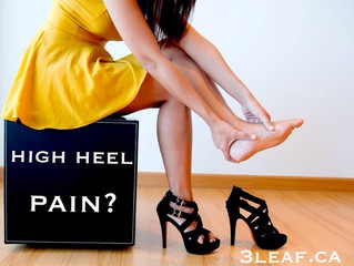 Tips for ladies who wear high heel shoes!