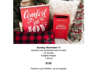 Christmas Mini Photography Sessions - Heather Dailey Photography