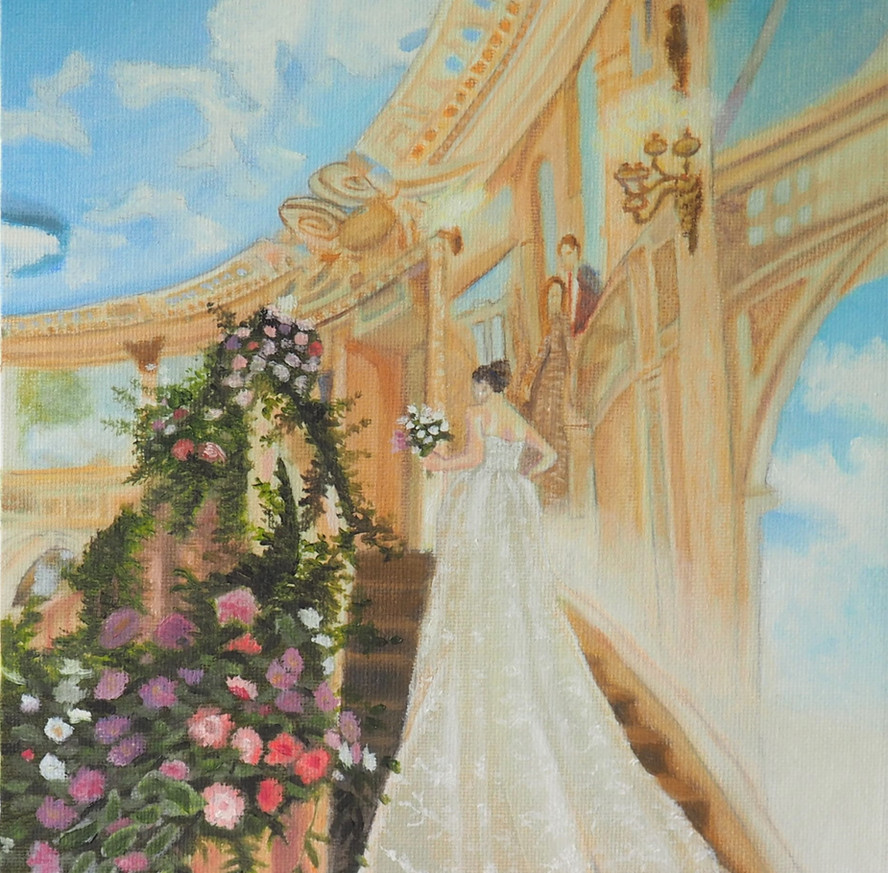 Brynn's Dress Painting John Loboda 2 (2)