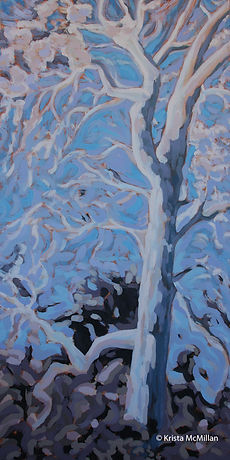 tree-painting-acrylic-london-plane-sycam