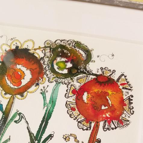 太陽の花 拡大