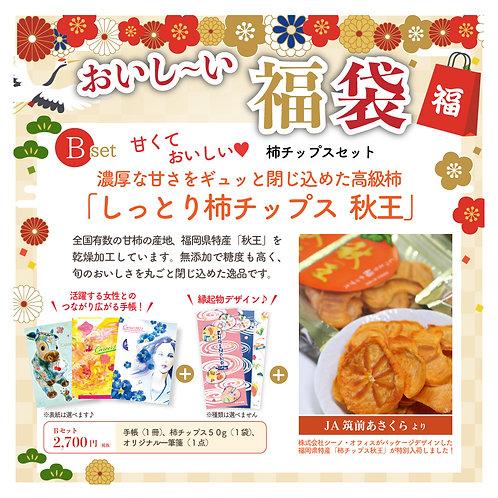 【数量限定】福袋Bセット「柿チップスセット」★送料無料★