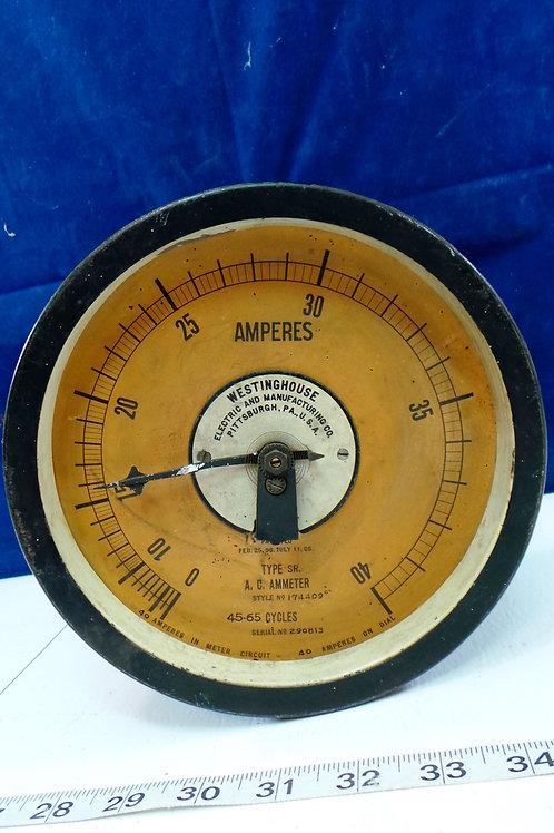 Westinghouse Amperes Gauge