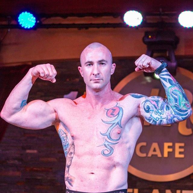 Daniel Holzberger Atlanta Corporate Fight Night 14