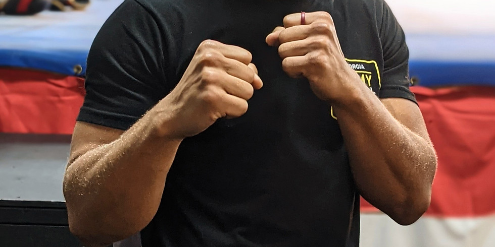 "Roy ""lil' tank"" Harris - Atlanta Corporate Fight Night 14"