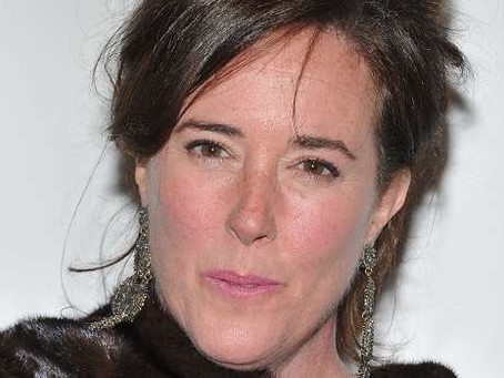 Kate Spade, Farewell my style muse...