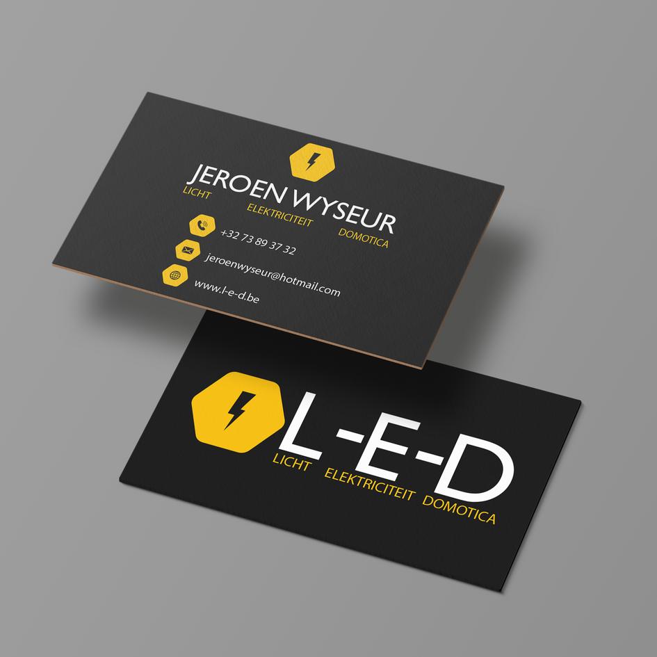 Businesscard - L-E-D