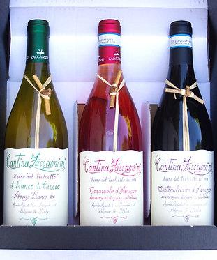 Geschenkpakket Cantina Zaccagnini