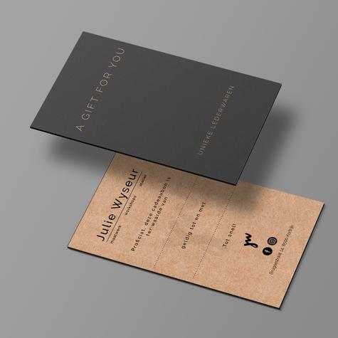 Julie Wyseur - giftcard