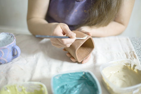 Painting Pottery