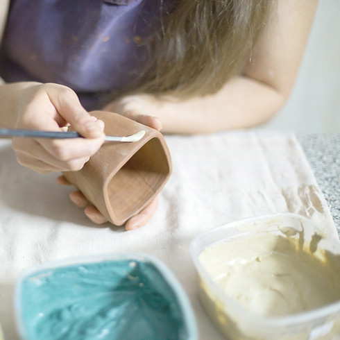 Clay, Pottery Wheel, Sculpture - Ages 6 and up.  F2M