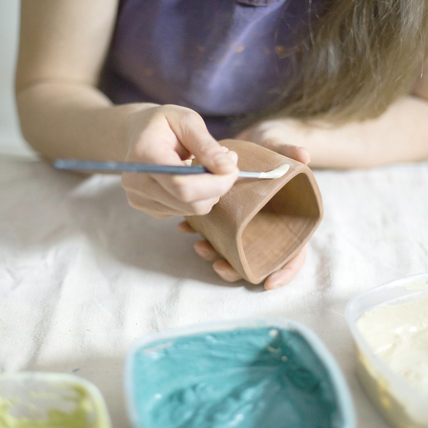 Clay, Pottery Wheel, Sculpture - Ages 6 and up.  S1M