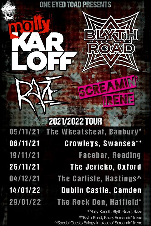 Raze UK Tour Dates Announced