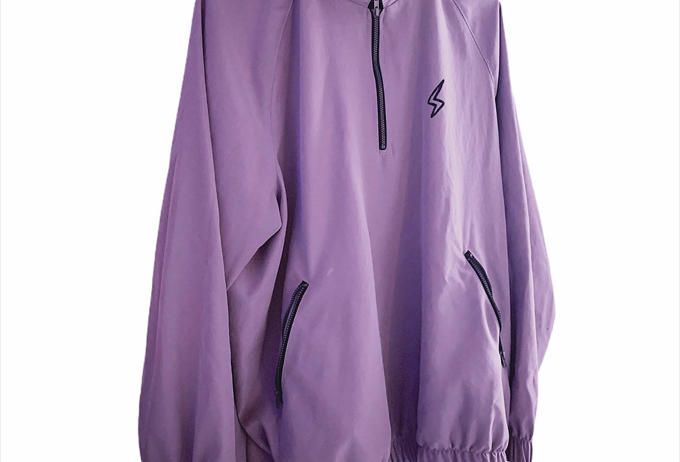 Renaissance: Quarter Zip Purple Jacket