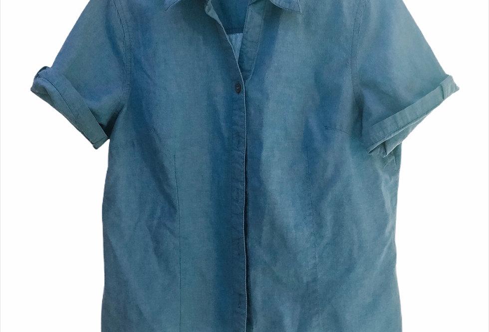 Renaissance: Crop Jean shirt