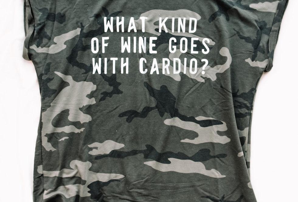 Camo T-shirt sweater