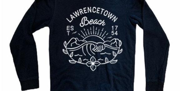 Renaissance: Lawrencetown Crew Navy Blue Crew Neck