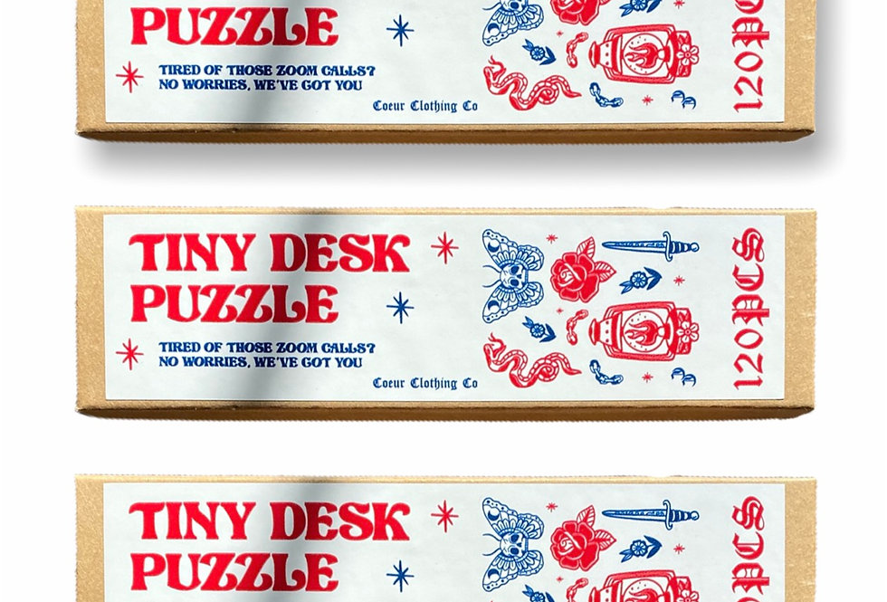 Tiny Desk Puzzle
