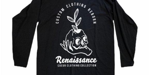 Renaissance: Black Long Sleeve