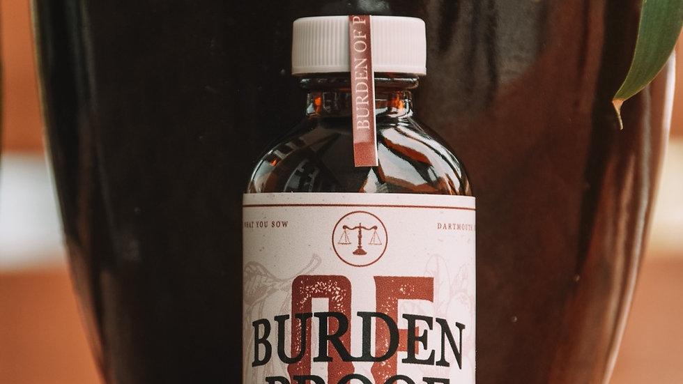Burden of Proof Single Serve Bottle