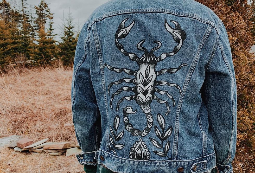 Scorpion old Levi's Jacket