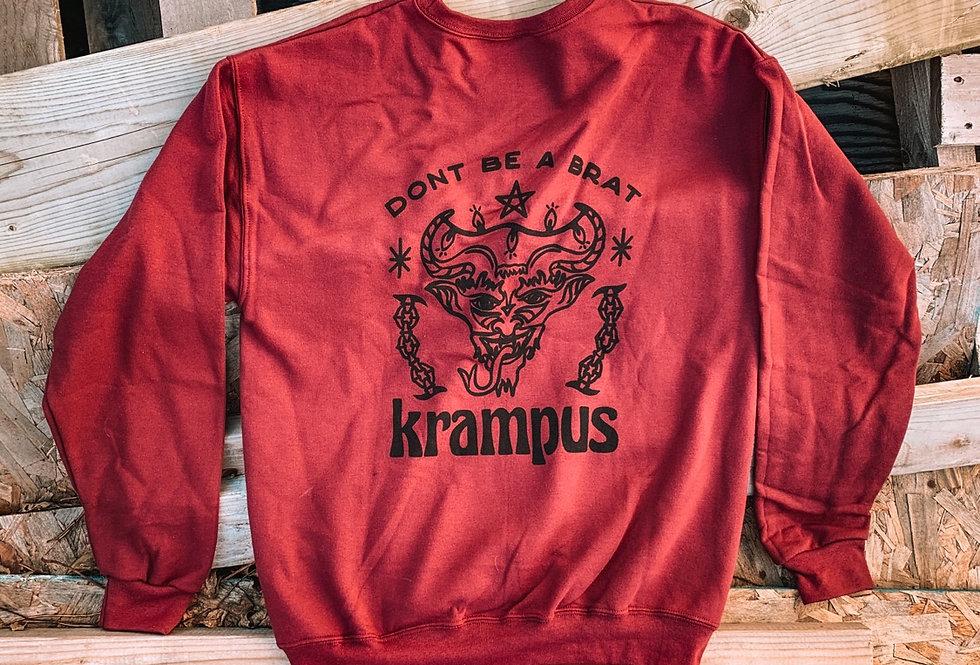 Krampus Crewneck