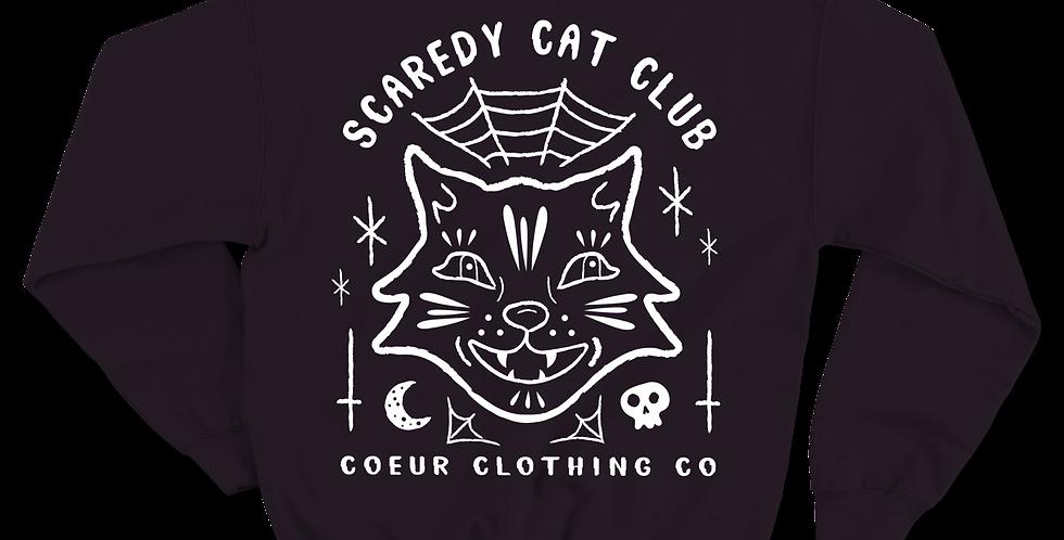 Scaredy Cat Crew neck