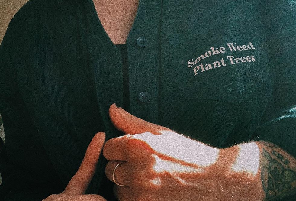 Corduroy Green Over Shirt
