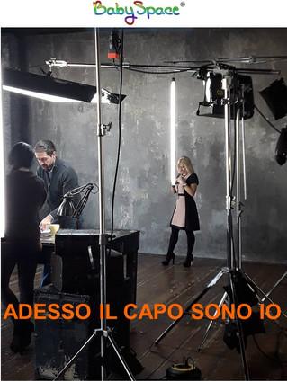 BABYSPACE IN TV! ADESSO IL CAPO SONO IO - LA5
