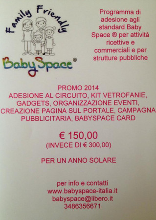 Promo 2014  Baby Space ® - Family Friendly