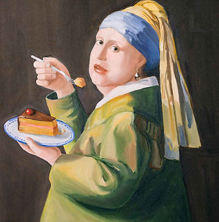 Das Mädchen mit der Delfter Torte (DIN A4)