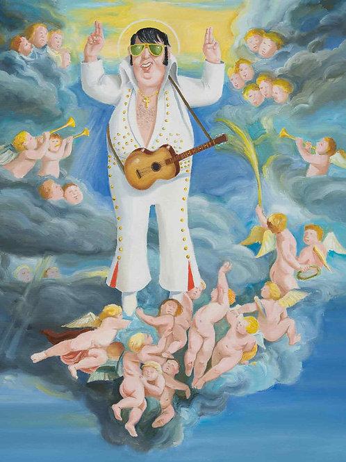 Elvis Forever (DIN A4)