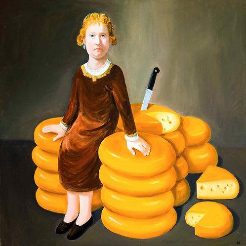 Rembrandts Mädchen aus Gouda (Leinwand)