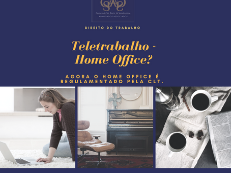A REFORMA TRABALHISTA E A POSSIBILIDADE DO TRABALHO À DISTÂNCIA (HOME OFFICE)