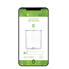 Environmentally friendly app encouraging users to clean the planet one piece a day