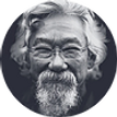 Canadian environmental activist David Suzuki