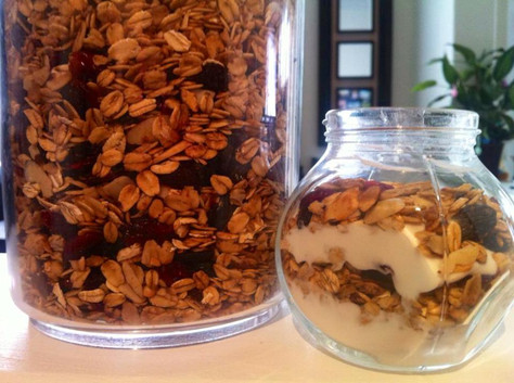 Homemade Granola!!!