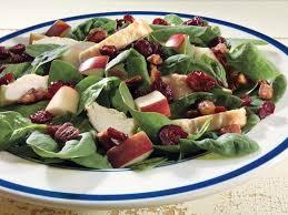 Apple-Cranberry Chicken  Salad