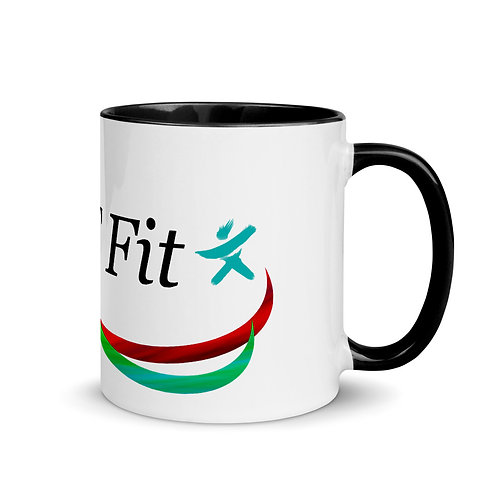 JRT Fit Logo Mug with Color Inside