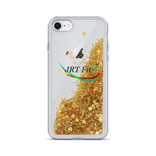 JRT Fit Logo Liquid Glitter Phone Case