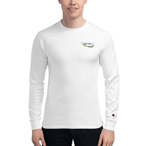 JRT Fit Logo Men's Champion Long Sleeve Shirt