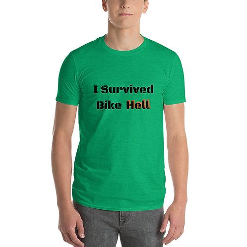 I Survived Bike Hell Short-Sleeve T-Shirt