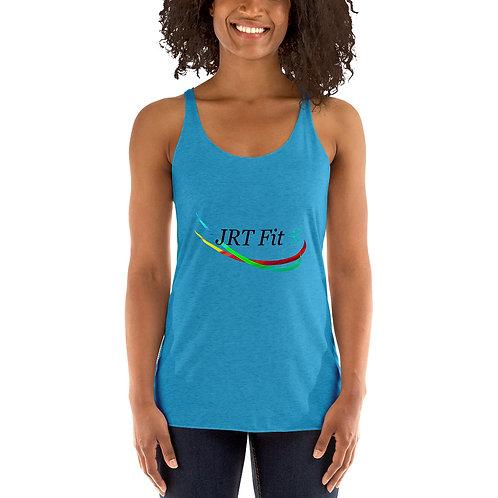 JRT Fit Logo Women's Racerback Tank