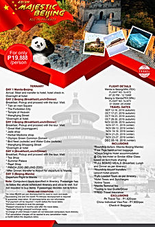 a. (CHINA) MAJESTIC BEIJING ALL-IN 2019.