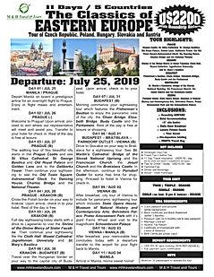 The Classics of Eastern Europe Jul 25_00
