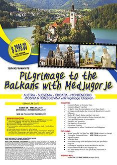 EU - Pilgrimage to the Balkans with Medj