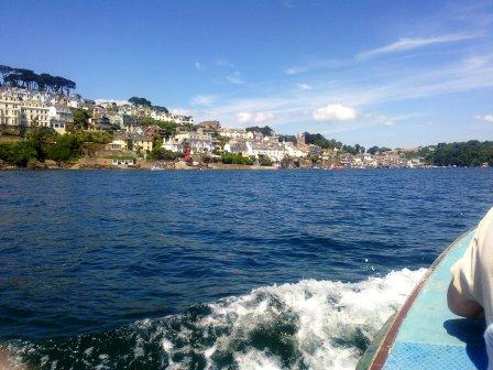 Coming into Fowey by ferry