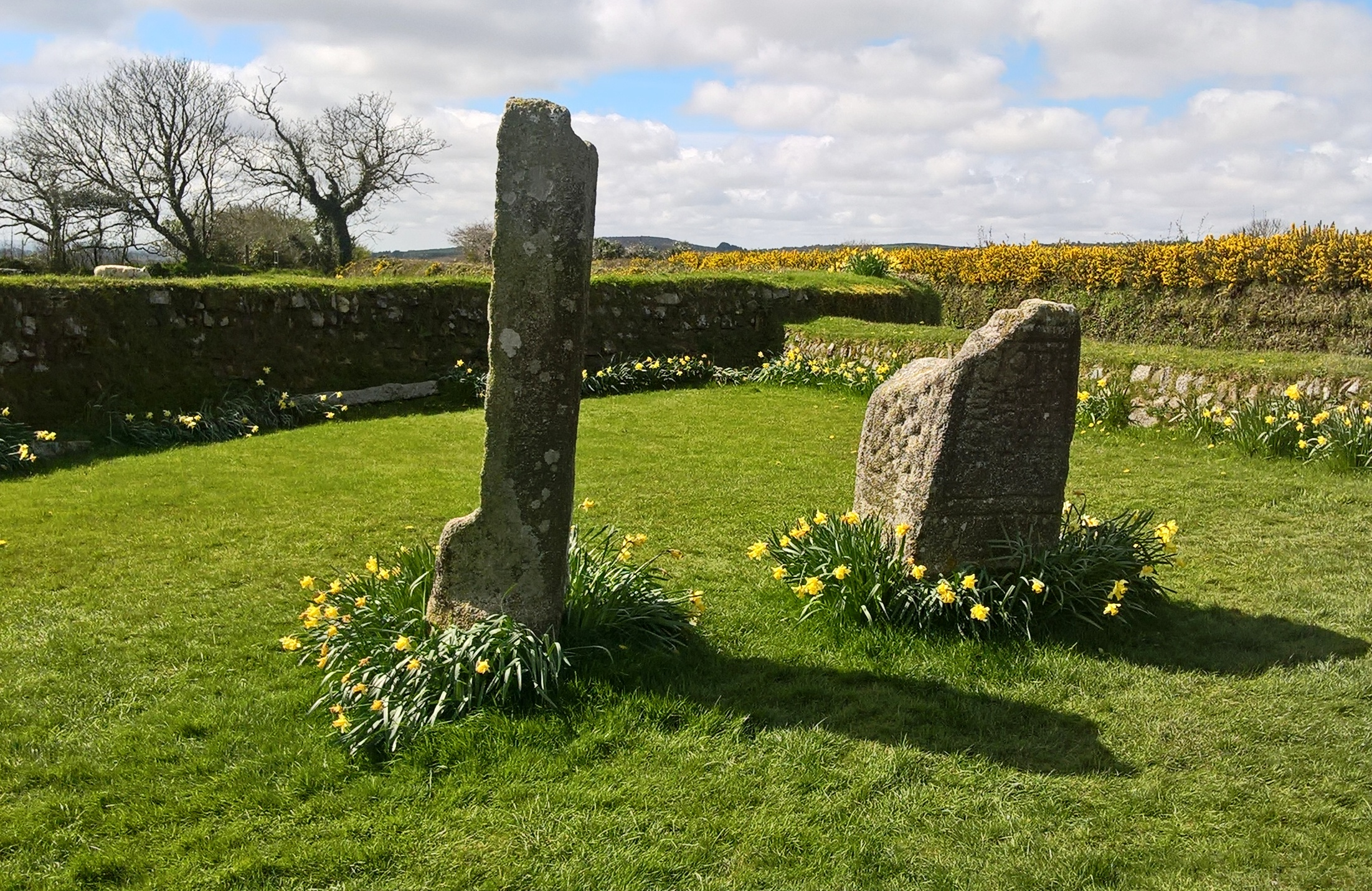 King Doniert's Stone - Monument to the last King of Kernow