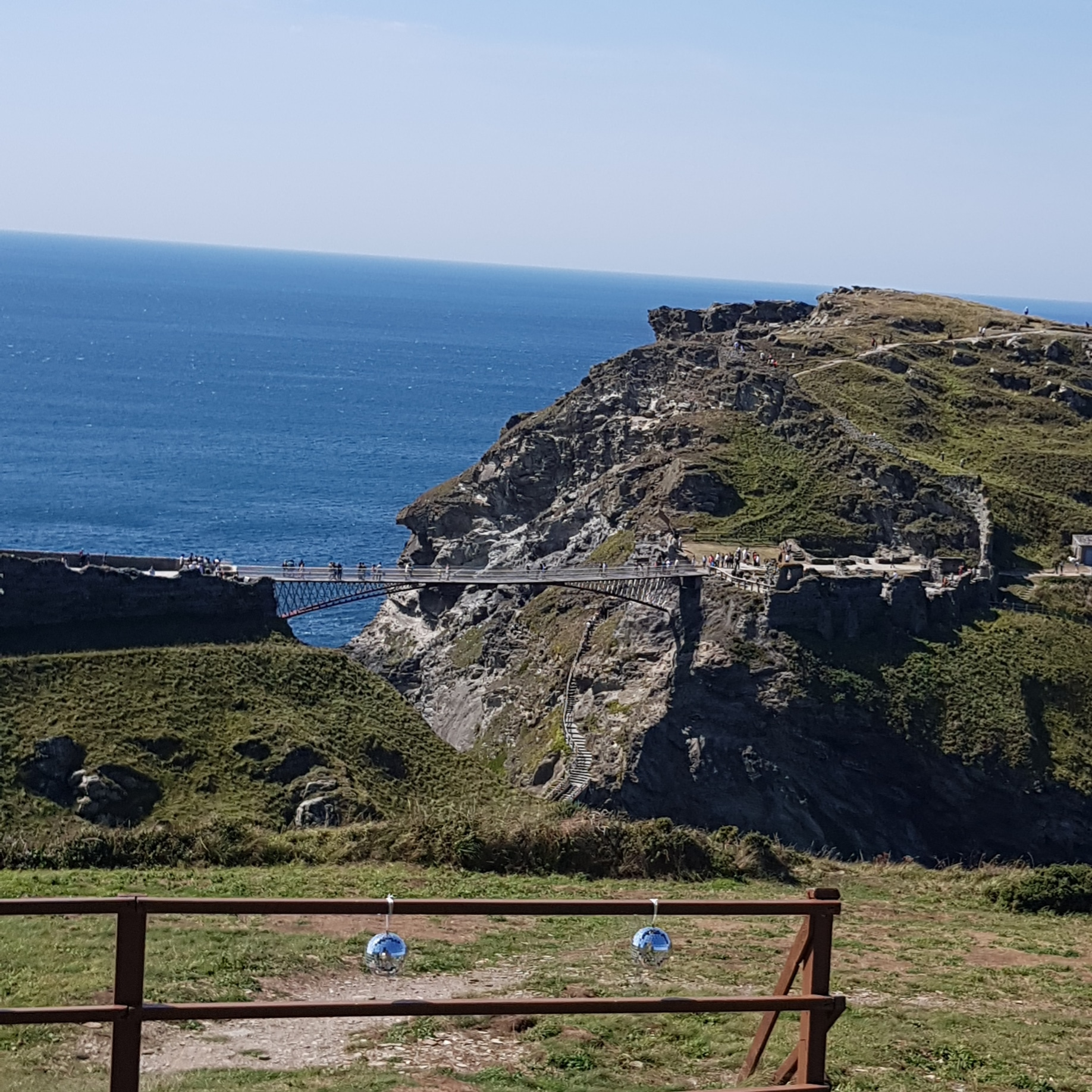 Tintagel Bridge from afar